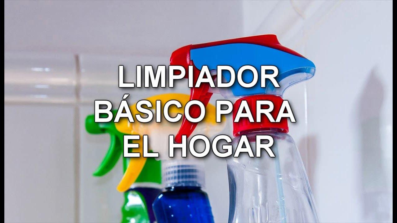 Como hacer limpiador general para el hogar y limpiacristales casero youtube - Limpia cristales casero ...