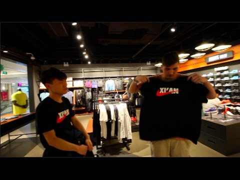 CHINESE NIKE STORE (China Vlog #4)