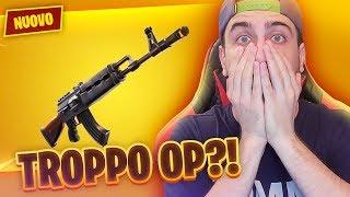 IL *NUOVO* AK-47 LEGGENDARIO è TROPPO FORTE!! Fortnite Battle Royale ITA!