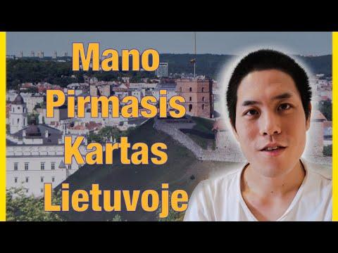 Mano Pirmasis Atvykimas į Lietuvą 2013 metais [Vilnius, Trakai]