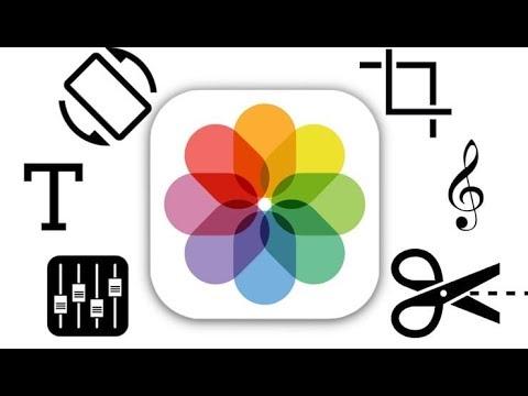 Как редактировать видео на IPhone: обрезать, наложить текст, музыку, перевернуть, склеить