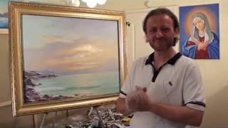 Игорь Сахаров. Живопись, видеоуроки Art Lesson Painting
