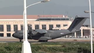 Airbus Airbus A400M Atlas (EC406) Touch and go at Malaga LEMG