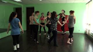 Русский танец для детей   от 3 до 8 лет
