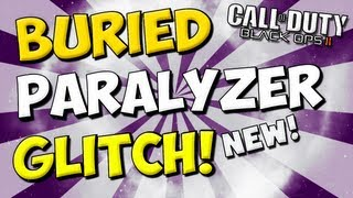 New Black Ops 2 Buried Paralyzer Glitch On The Barn! Easy Pile Up Glitch On Ledge!
