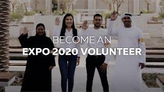 Expo 2020   Volunteer today