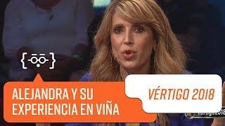 Alejandra Azcárate y su experiencia en Viña | Vértigo 2018