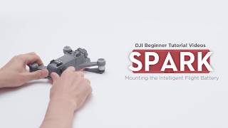 How to Mount DJI Spark Intelligent Flight Battery (Beginner Tutorial)
