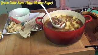Green Chile Stew (New Mexican Style)
