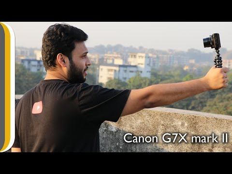 EXCLUSIVE VLOG TEST of the Canon G7X mark II