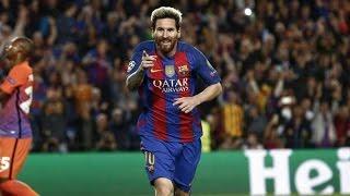 Les buts de Messi en phase de poule de Ligue des Champions 2016