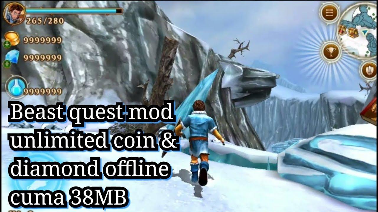 beast quest mod apk offline  youtube
