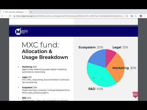 Machine Xchange Coin - The Future of IOT