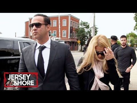 See the Jersey Shore Stars' Emotional Arrival at Mike 'The Situation' Sorrentino's Sentencing