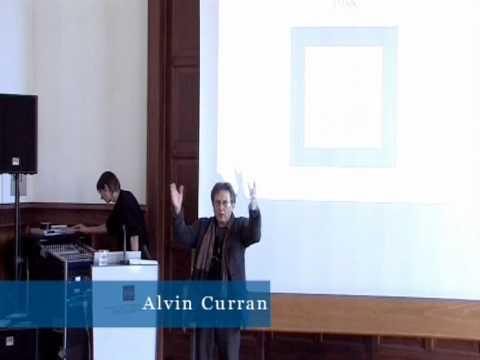 Music Outside the Concert Halls. Vortrag von Alvin Curran 4/5