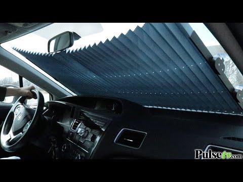 Retractable 55in Auto Sunshade