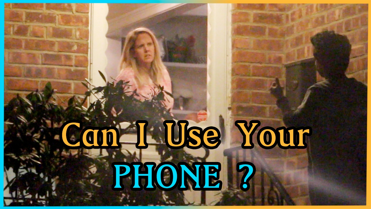 Can I Use Your PHONE? Experiment - YouTube