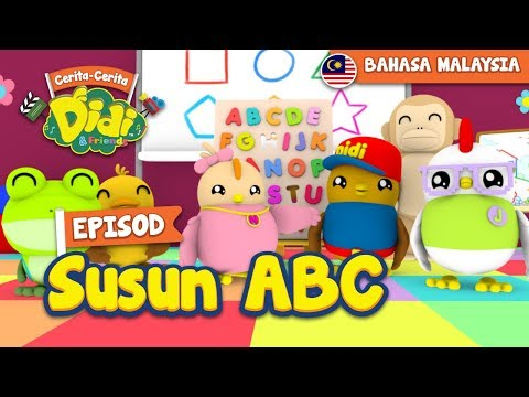 #18 Episod Susun ABC | Didi & Friends
