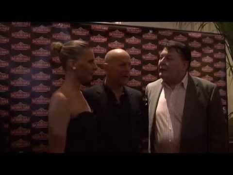 Sobieski VIP event in Paris with Bruce Willis