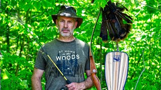 Wilderness Living, Catch and Cook Rare Algonquin Fish & Wild Turkey on a Campfire