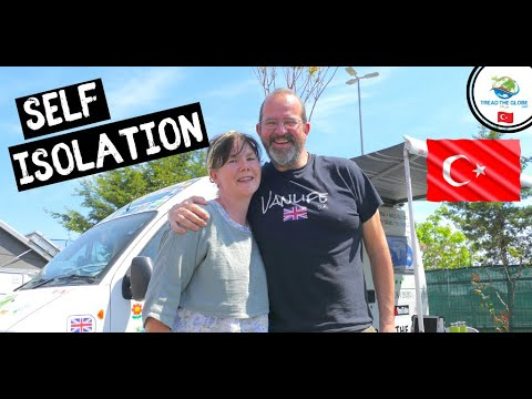 Getting used to VAN LIFE Self Isolation 🇹🇷 ISTANBUL TURKEY -Around the world drive