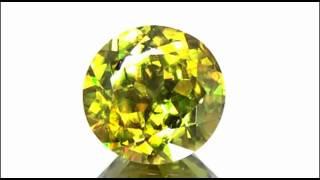 イエロー スフェーン(Yellow Sphene) 12.35CT
