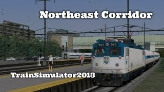 Northeast Corridor - TrainSimulator2013 [Railworks 4]