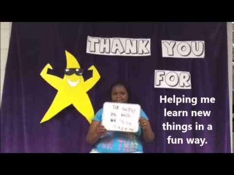 "Chandler Creek Elementary School - End of the Year Teacher ""Thank Yous""!"