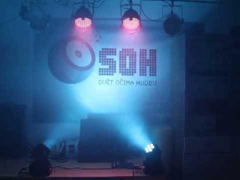 DMX Music Visualization Set 4x LEDs + 2x LED Wash