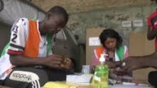 Voters Turn Out In Abidjan's Yopougon Suburb