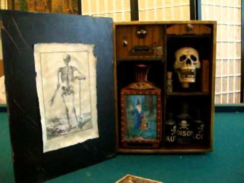 Haunted Apothecary Box by Chuck Caputo