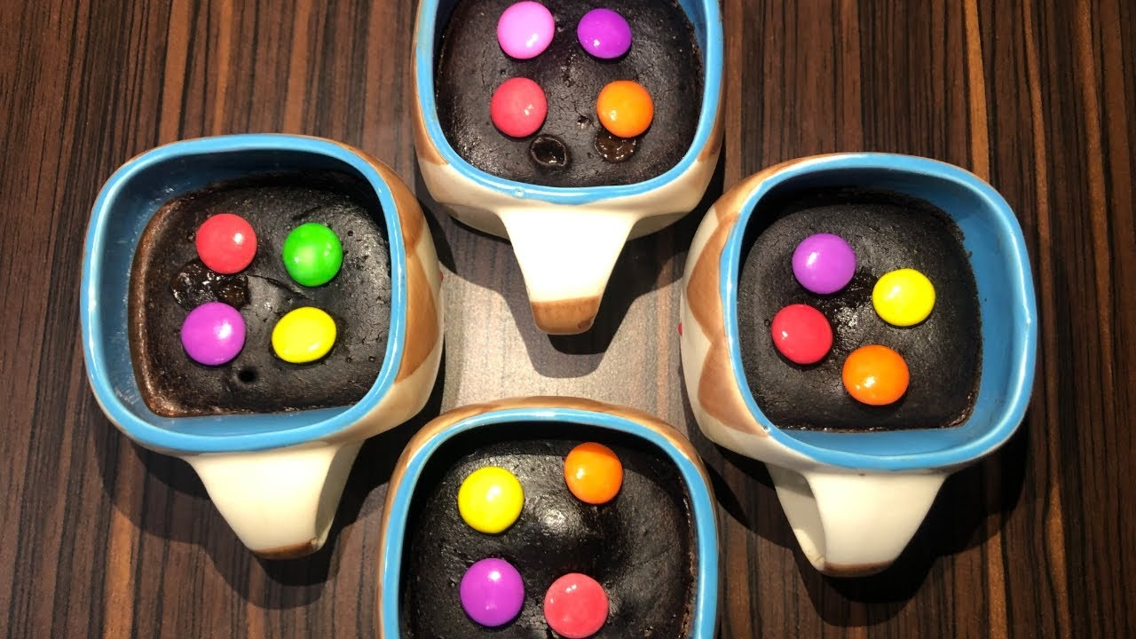 Mug Cake Without Egg, Soda And Microwave| How To Make Oreo ...