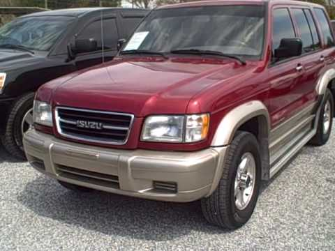 1999 isuzu trooper 4x4 frontier motors used car dealer for Frontier motors pensacola fl
