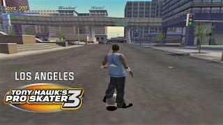 Video Tony Hawk's Pro Skater 3 (PS2) - Los Angeles - 100% GOALS, STATS AND DECKS download MP3, 3GP, MP4, WEBM, AVI, FLV April 2018