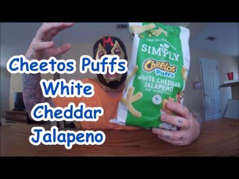 Cheetos Puffs White Cheddar Jalapeno