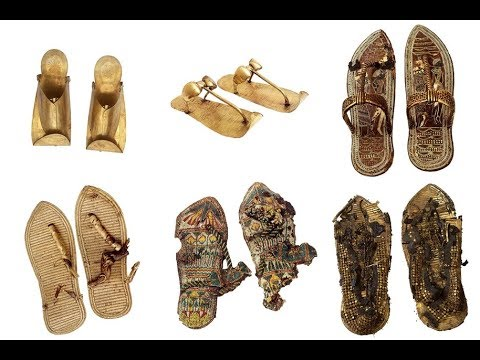 fa29d3e26928 Ancient Egyptian Sandals and Shoes - YouTube