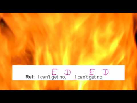 I can`t get no - The Rolling Stones - Lyrics and Chords - Complete Song - Play Along - Musikschach