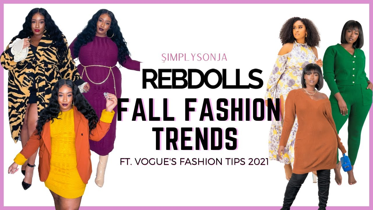 Download Using Redbolls to Create VOGUE'S Top 2021 Fall Trends Looks| Plus Size Try On Haul| Fall Look Book
