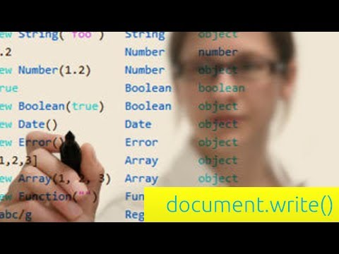 document.write Function - JavaScript Tutorial for Beginners