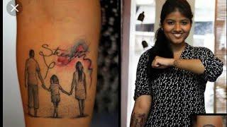 #mom #Dad  #tattoo #design