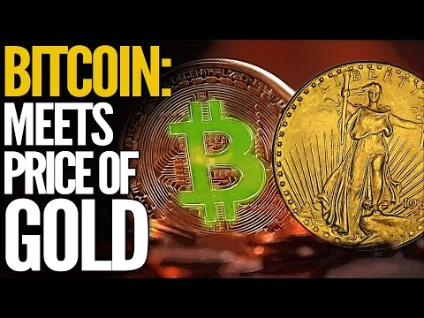 BITCOIN MEETS THE GOLD PRICE: Is It The Future Of Money?