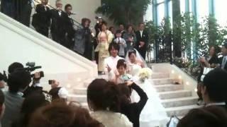 Bouquet toss@ ANNIVERSAIRE Nagano