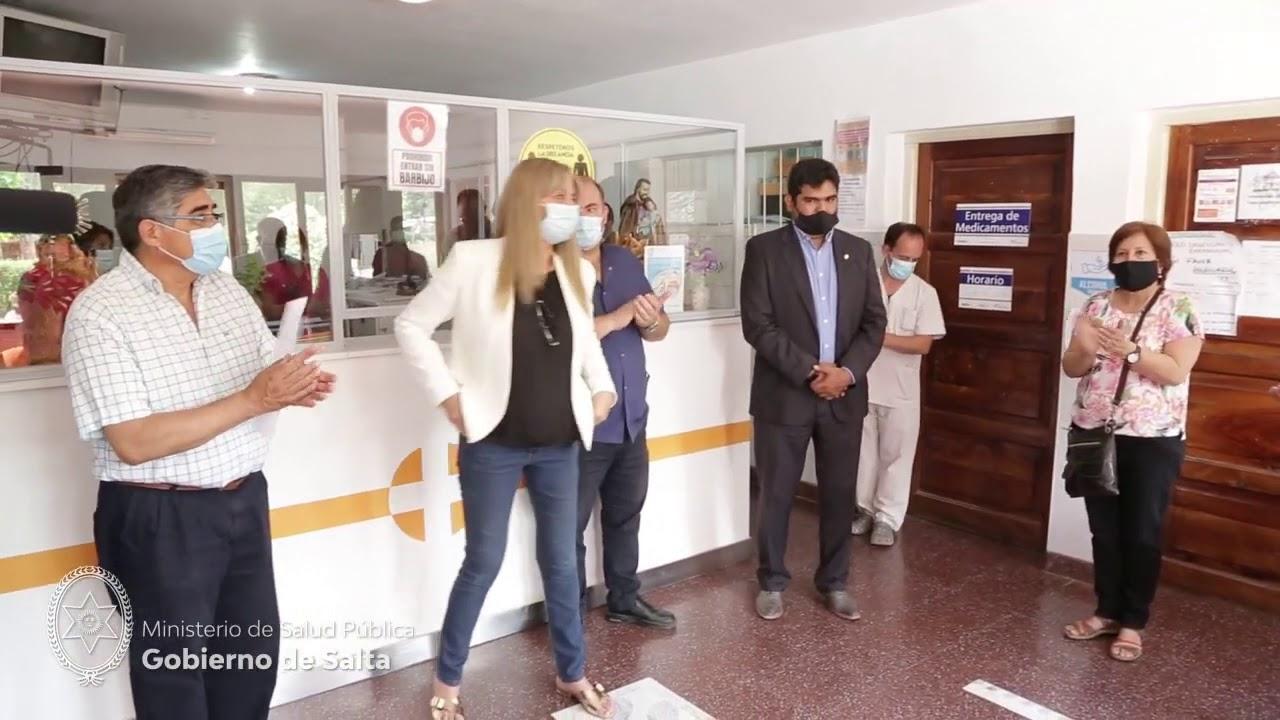 Asumieron nuevos gerentes en hospitales del Valle de Lerma 231020  Gobierno de Salta