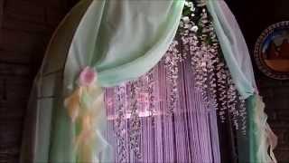 мятно ванильная свадьба Эдуарда и Надежды