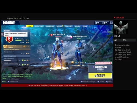 Fortnite W/IMINYOURHOUSE GAMING