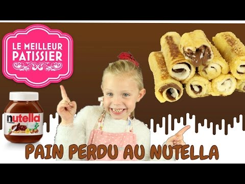 ♡•-louane-participe-au-meilleur-patissier-|-recette-pain-perdu-au-nutella-•♡