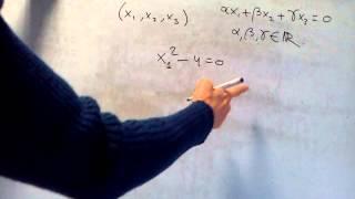 ÁLGEBRA - Cómo determinar si un conjunto es o no subespacio vectorial (2)