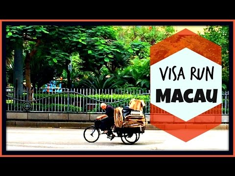 Visa Run to Macau