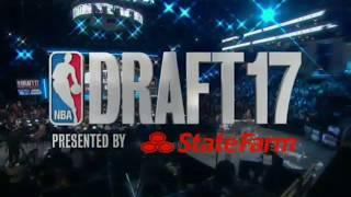 "Rawsrvnt ""There Go That Man"" on 2017 NBA Draft Show (@Rawsrvnt)"