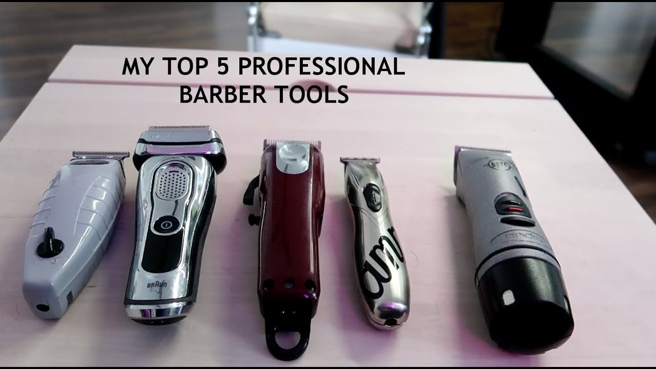 My Top 5 Professional Barber Clippers Braun Series 9 Cordless